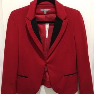 NY Collection Red Blazer